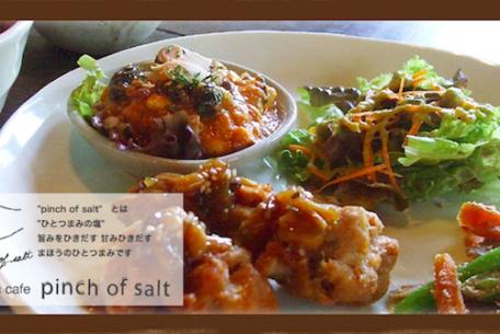 オーガニック食材をつかったランチやスイーツが楽しめる!オーガニックカフェ「pinch of salt」