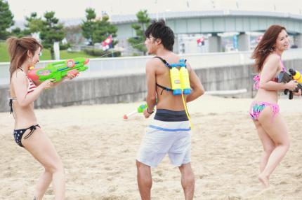 全力で遊ぶ大人のサマーフェス!水fes2015の水鉄砲バトルロワイアル - IMG 9845