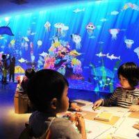 名鉄百貨店本店で「チームラボアイランド 学ぶ!未来の遊園地」が開催!8月8日~8月24日まで