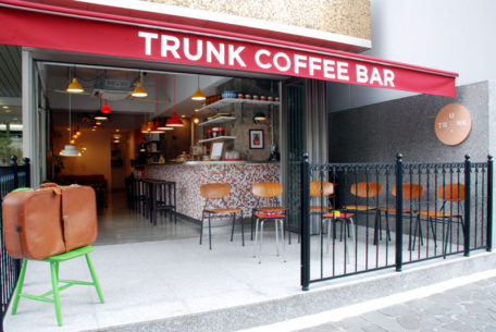 北欧のコーヒー文化を発信するカフェTRUNK COFFEE BAR