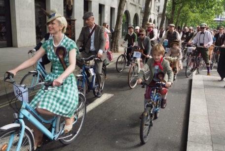 ツイードを着て自転車でオシャレに走ろう!「ツイードラン名古屋2015」が11/7に開催!