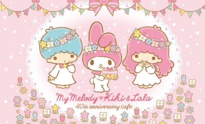 名古屋セントラルパークに「マイメロディ♡キキ&ララ40thアニバーサリーカフェ」が8/31(月)まで期間限定でオープン! - mannaka birthday cafe nagoya 01 660x400