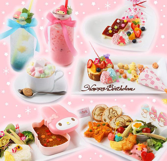 名古屋セントラルパークに「マイメロディ♡キキ&ララ40thアニバーサリーカフェ」が8/31(月)まで期間限定でオープン! - mannaka birthday cafe nagoya 02