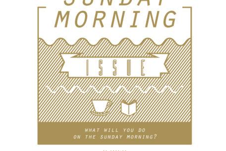日曜日の朝から珈琲と本と共にゆっくりと過ごす「SUNDAY MORNING ISSUE」