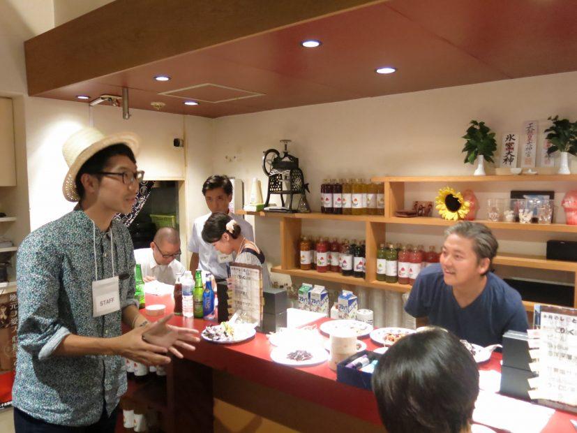 仕事についてフランクに語り合えるしごとバー@名古屋、第1回「世界に仕掛ける岐阜のモノづくりナイト」が開催されました - IMG 2099 827x620