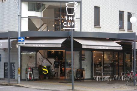 歴史ある長者町商店街の近くで存在感を放つ!名古屋伏見のカフェ「THE CUPS」