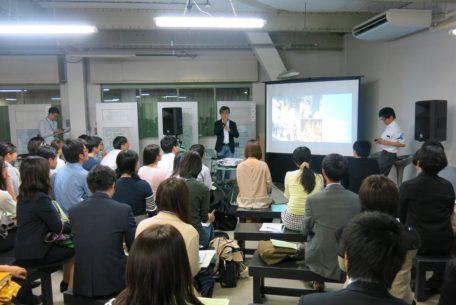 仕事についてフランクに語り合えるしごとバー@名古屋、第1回「世界に仕掛ける岐阜のモノづくりナイト」が開催されました