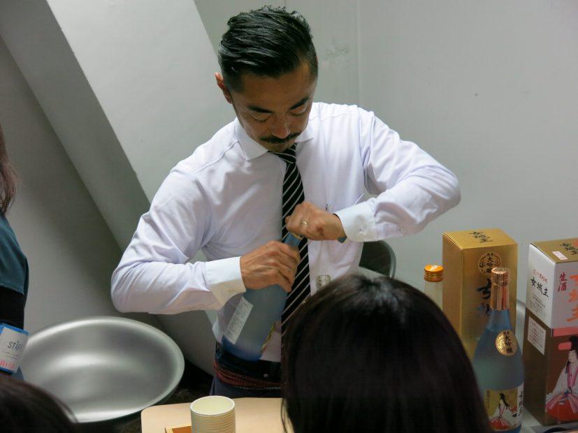 仕事についてフランクに語り合えるしごとバー@名古屋、第1回「世界に仕掛ける岐阜のモノづくりナイト」が開催されました - IMG 3124 827x620