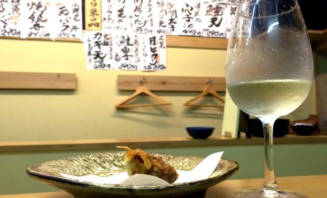 夜の柳橋市場でワインを楽しむなら「天ぷらとワイン 小島」のカウンターがオススメ! - IMG 6215 660x400
