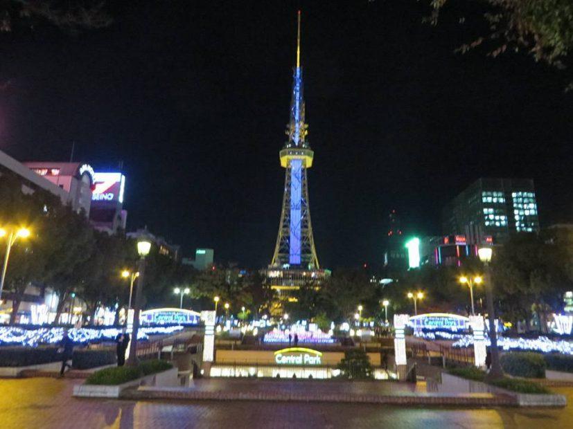 名古屋の冬空が幻想的な海の世界に!テレビ塔のプロジェクションマッピング「CITY LIGHT FANTASIA by NAKED」 - 1c43ac0180bd217f3a697ab5e2baa0e3 827x620