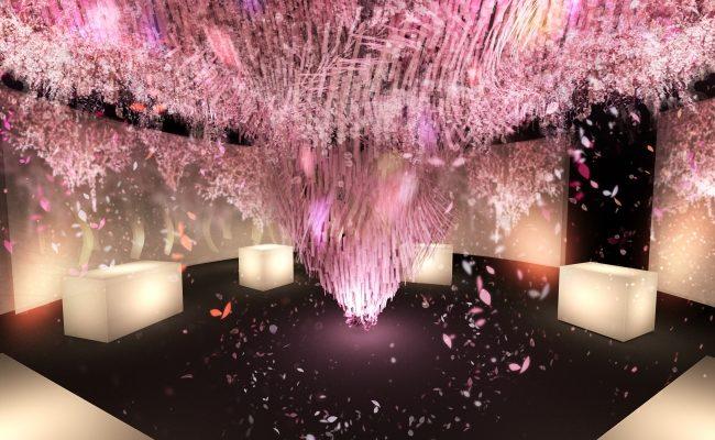 満開の桜アートで花見を楽しもう!「SAKURA TOWER by NAKED」 - 1 2 650x400