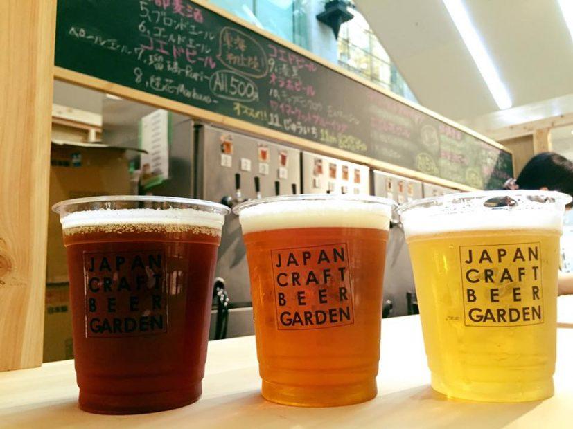 栄ラシックがビアガーデンに!「JAPAN CRAFT BEER GARDEN」
