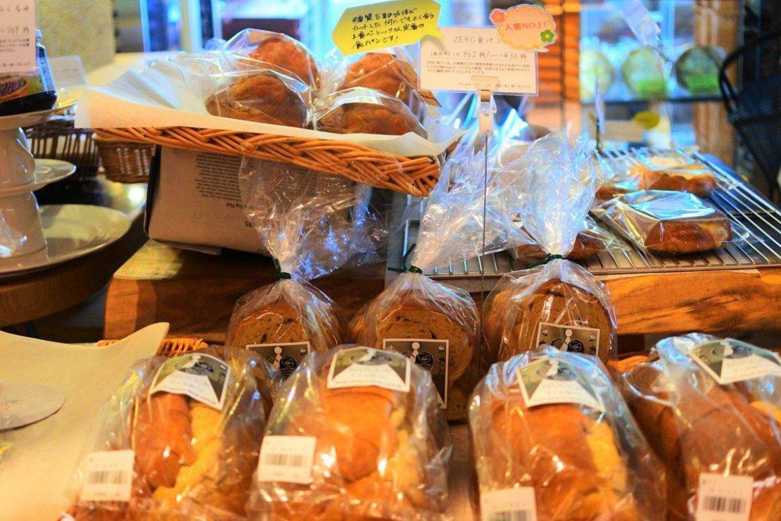 食べて健康!ふすまパン専門店「ZERO CAFE NUCCA(ゼロ カフェ ヌッカ)一社店」
