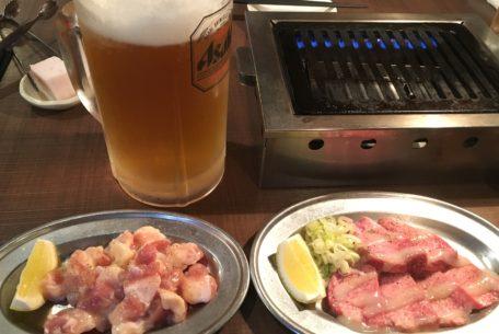 名駅、伏見駅から徒歩8分!ビール片手に焼肉を食べるなら堀川沿いの焼肉店「納屋橋ホルモン」