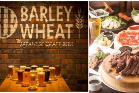 常時15種類の国産クラフトビールが楽しめる!栄「BARLEY WHEAT」