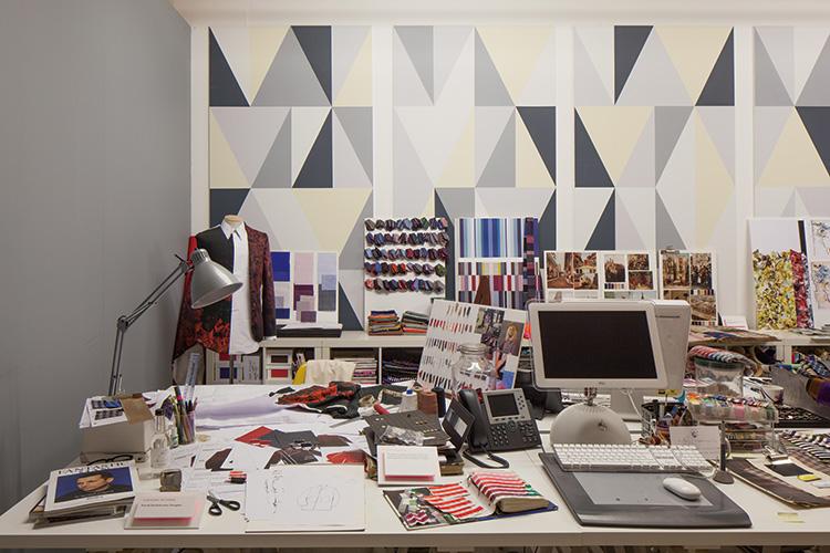 デザインスタジオの再現ブース