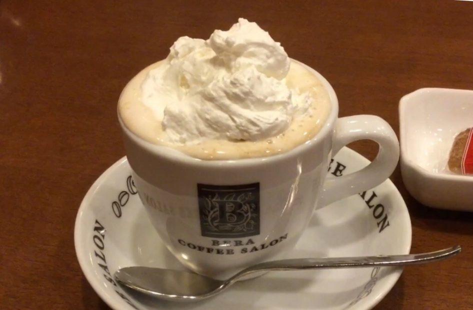 名古屋の愛され喫茶店!名物「ウインナーコーヒー」で有名な「べら珈琲」