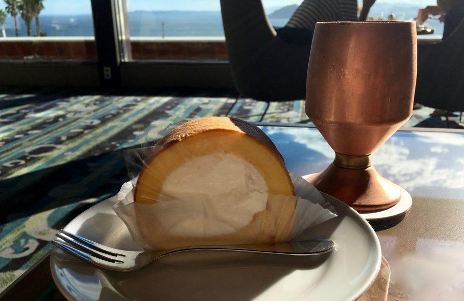 目の前に広がる海は、まさに絶景!伊良湖ビューホテルのコーヒーハウス「アドリア」 - IMG 8037 956x620