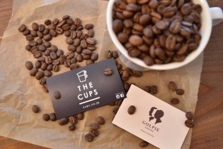 「THE CUPS」が「GOLPIE COFFEE」の珈琲を至極のラテアートに