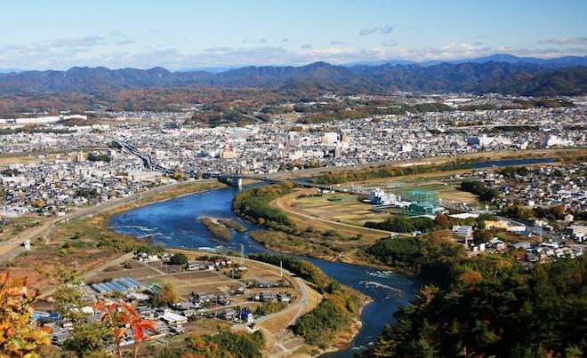美濃加茂で30種のスイーツを食べ歩き!「SWEETS WALK」11月6日開催 - Minokamo from Mount Hatobuki 1