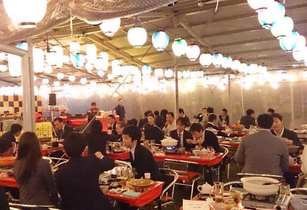 冬はビアじゃなく鍋ガーデン!「柳橋とらふぐ鍋ガーデン」がマルナカ食品センターに登場 - 20161104 yanagibashi 02