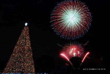 冬の夜空に咲く満開の花!「ISOGAI花火劇場 in 名古屋」12月24日開催!