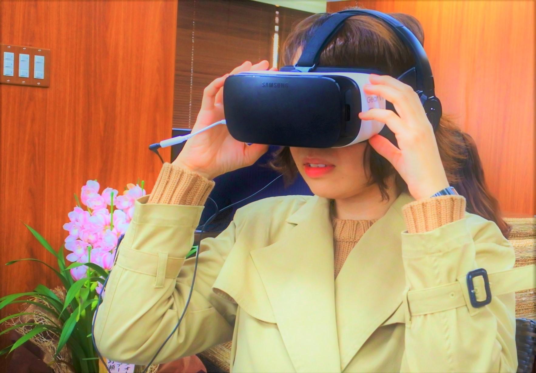 エイチ・アイ・エス ハワイ専門デスク 店内 VR体験