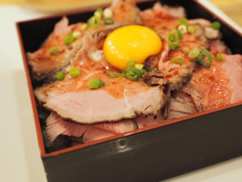 【新栄】1000円以内で食べられるローストビーフのお店「お肉食堂にくきゅう」 - P1010016 827x620