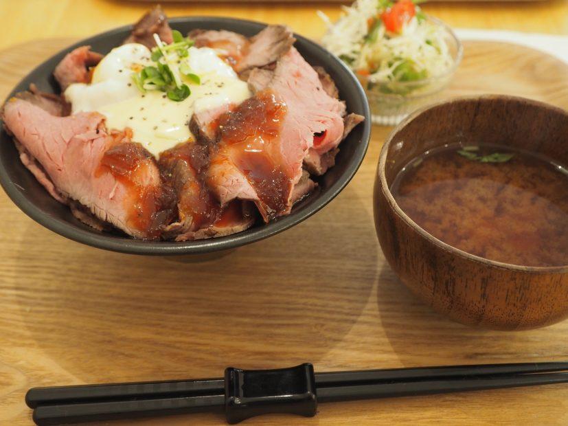 【新栄】1000円以内で食べられるローストビーフのお店「お肉食堂にくきゅう」 - P1010019 827x620