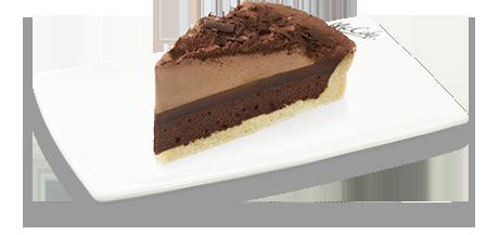チョコレートタルト ¥320 タルト、ムース、ガナッシュが一度で味わえる絶品チョコケーキ