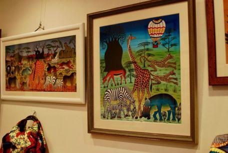 東山公園「ギャラリー・タンザニアフィリア」はアフリカンアート溢れる空間!