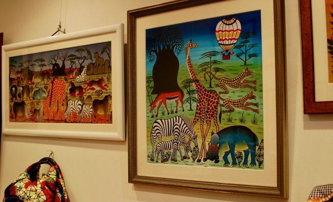 東山公園「ギャラリー・タンザニアフィリア」はアフリカンアート溢れる空間! - DSC 0932 660x400