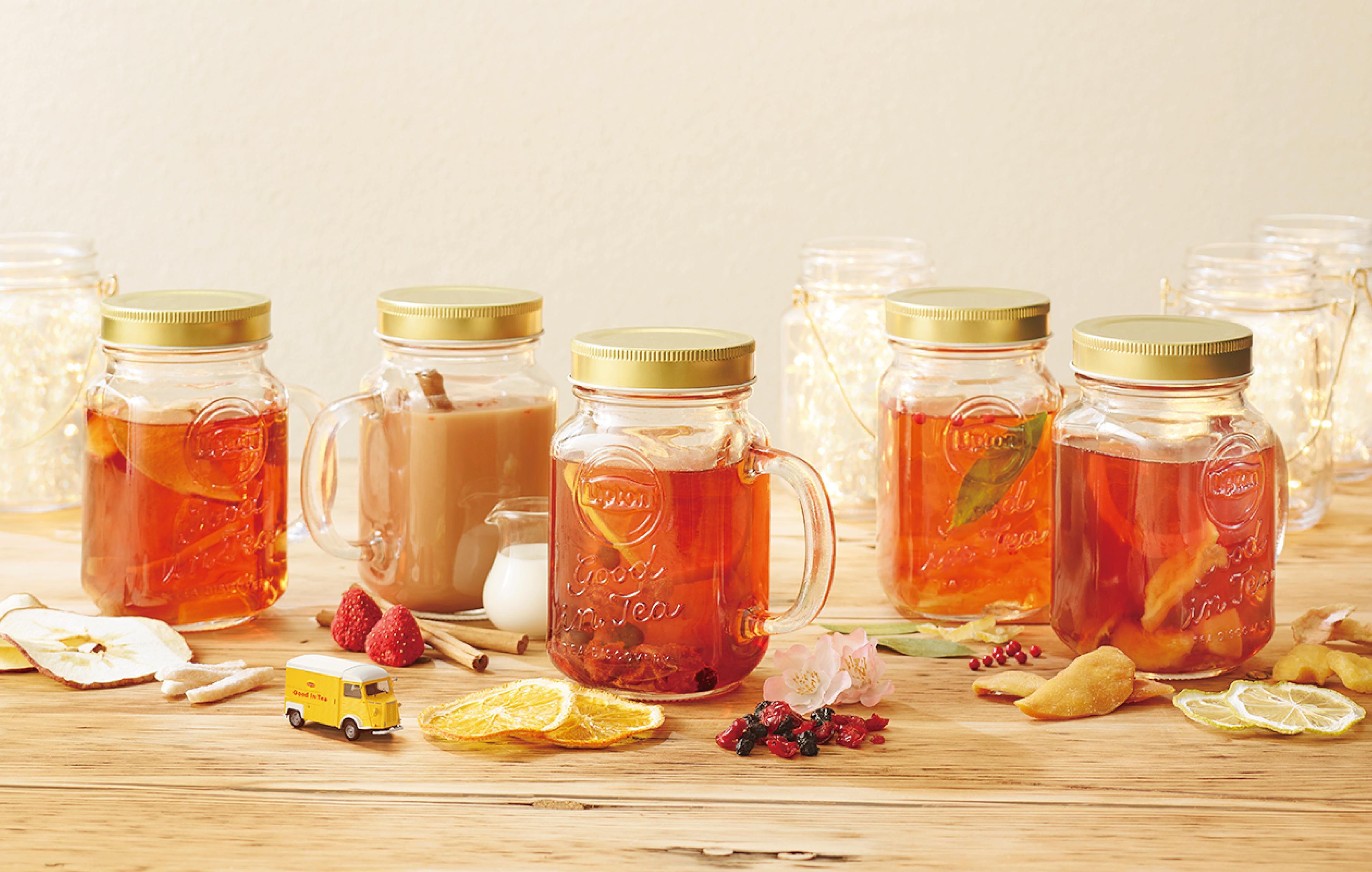 """冬は紅茶であったまろう!リプトン""""Good in Tea""""が名古屋栄に登場! - 07 macaroni KV 0125"""