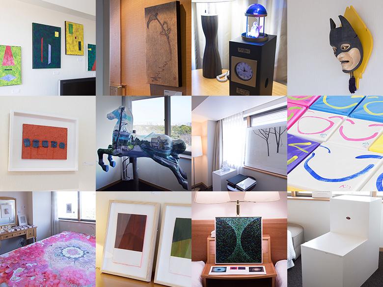 ホテルの客室がギャラリーに!現代アートの祭典「ART NAGOYA 2017」 - 2016img