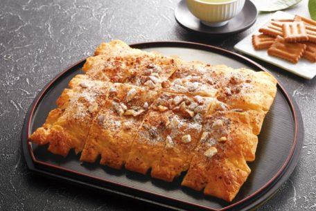 名古屋のお菓子『しるこサンド』がアオキーズ・ピザとコラボでピザになった!