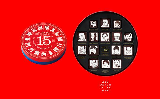 LES GENS DU CHOCOLAT(ショコラな人々)15個入 9,180円(税込)