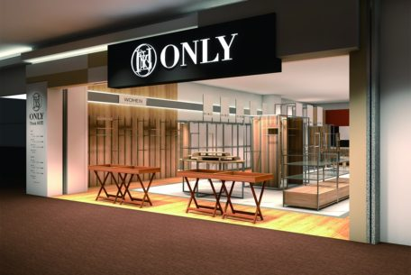 適正価格を追求するスーツショップ「ONLY」、名古屋でリニューアルオープン