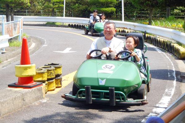 春のお出かけどこ行く?名古屋周辺のおすすめ公園10選! - odaka ryokuchi gocart