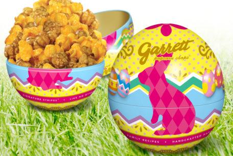 ギャレットよりイースター缶と新フレーバー「アップルシナモンウォルナッツ」が登場