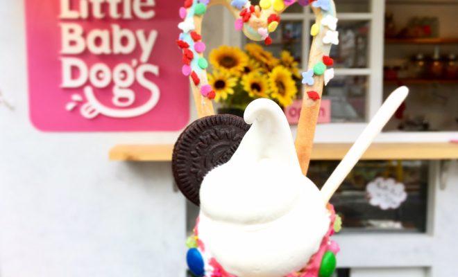 この夏の大本命!可愛すぎるソフトクリームが話題の『リトルベビードッグス』 - IMG 4009 660x400
