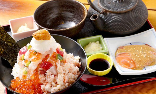 一度で七回おいしい!『刺身・海鮮炭焼・寿司 北海道』で味わう、究極の海鮮丼 - img 126693 1 660x400