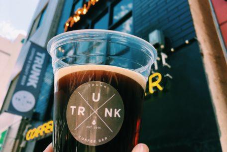 ニトロコーヒーにクラフトビールも!Trunk Coffee & Craft Beer