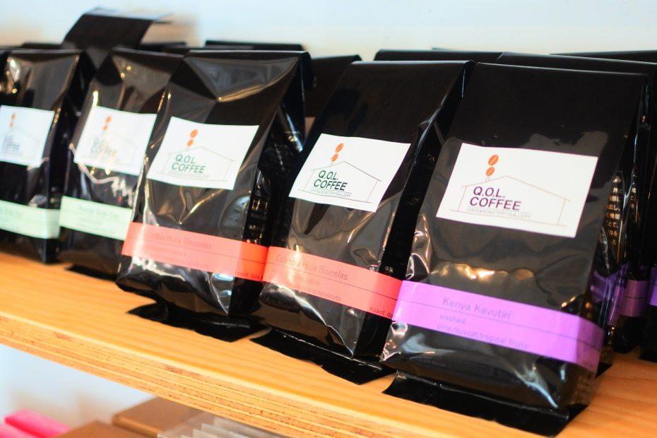 素敵なコーヒーを暮らしに。大津通・ロースターカフェ「Q.O.L. COFFEE」 - DSC 2241 930x620
