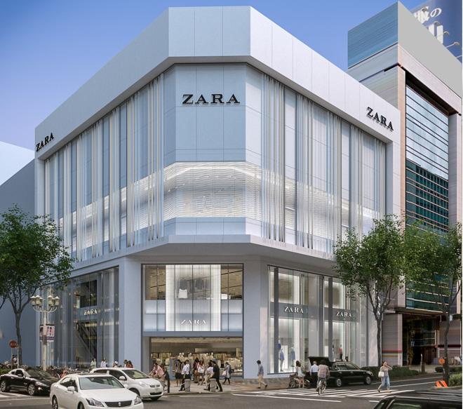 新たな商業ビル誕生!東海エリア最大の「ZARA 名古屋店」が栄に8月オープンへ - ZARA 20170607 001 thumb 660xauto 707555 1