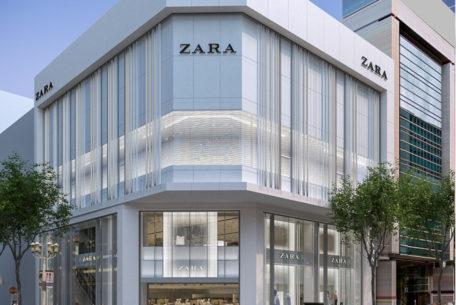 新たな商業ビル誕生!東海エリア最大の「ZARA 名古屋店」が栄に8月オープンへ