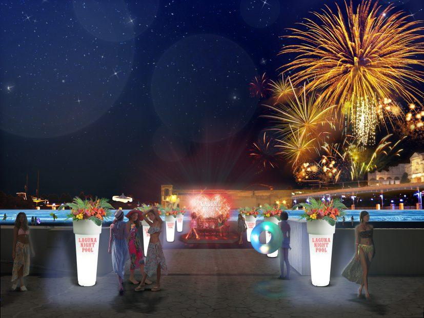 ラグナシアで過ごす大人な夏の夜!「ナイトプール」が7/8(土)からスタート - img 130091 2 827x620