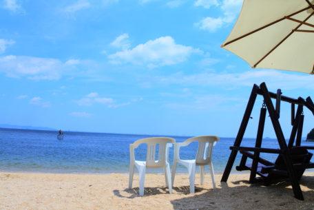 南国気分の無人島『三河大島』で海水浴。ウォールアートや周辺スポット情報も