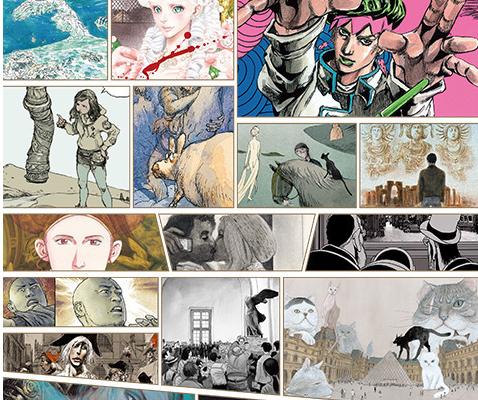 マンガ好き必見の美術展「ルーヴルNo.9」が松坂屋美術館で開催! - artist 478x400