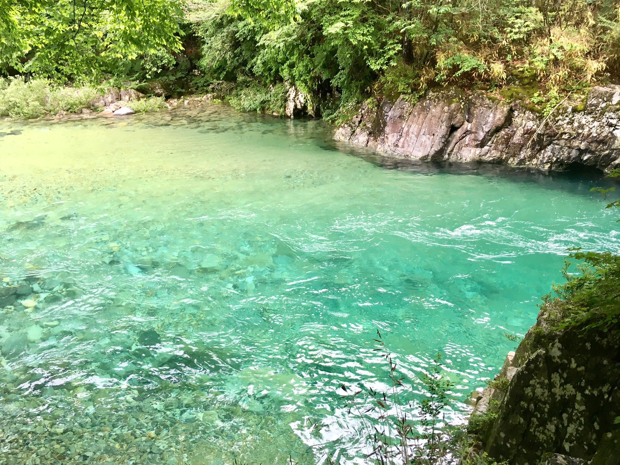 【名古屋から行ける避暑地・前編】この夏行きたいエメラルドの秘境『阿寺渓谷』 - tanu