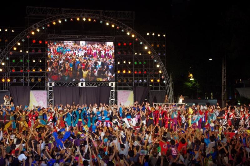日本最大級!踊りの祭典「にっぽんど真ん中祭り」が、8月25日から3日間開催! - 20150402